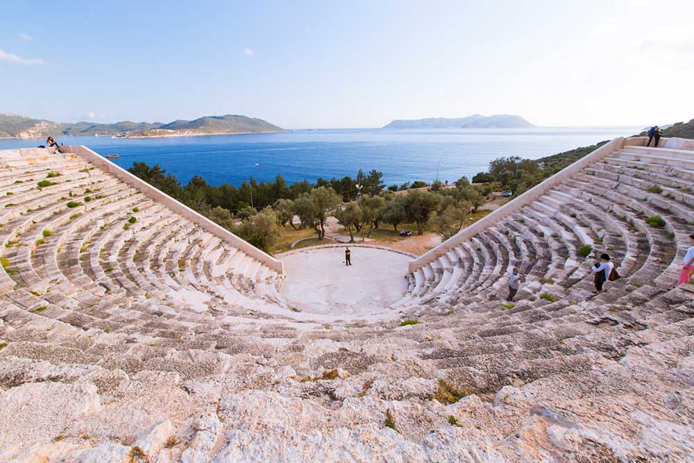 kaş antik tiyatro
