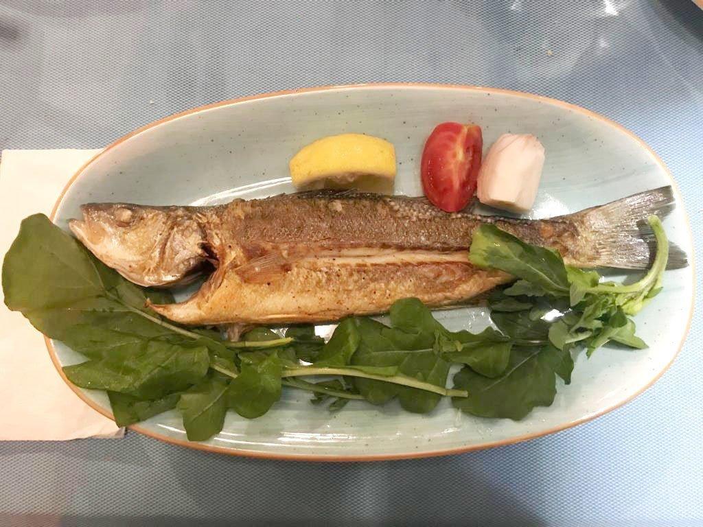 Kaş'ta balık yemek