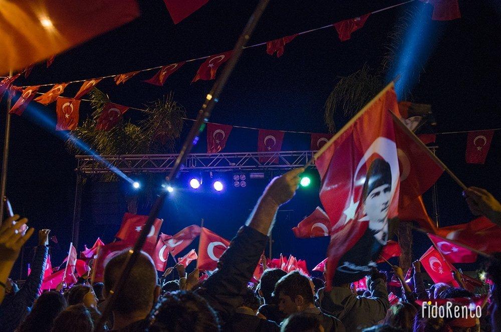 Kaş'ta 29 Ekim Bir Başka Kutlanır #15455