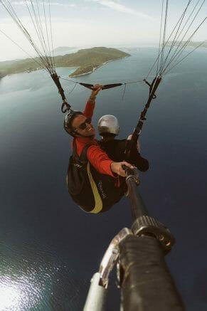 Humans Like a Bird: Paragliding