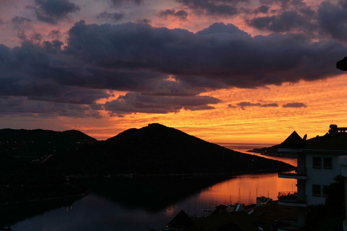 SunSets in Kas