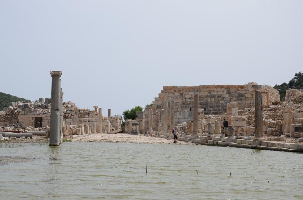 Kaş'ta gezilecek antik kent Patara Antik Kenti