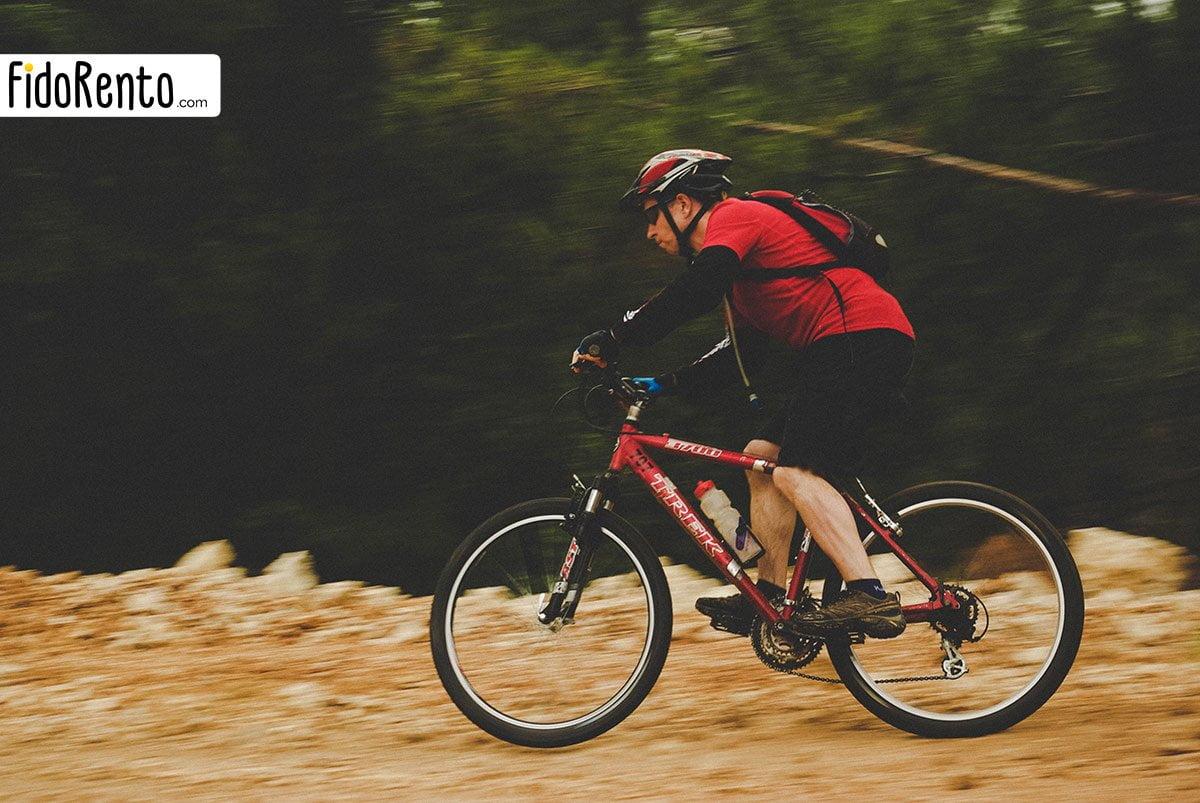 Kaş'ta Dağ Bisikleti